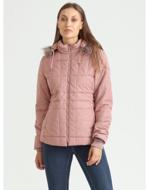 Women Quilted Puffer  Jacket Onion